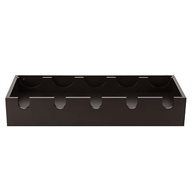 Nexxt Ellington Wine Rack, Espresso, 23-3/4