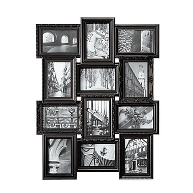 Nexxt Revet Series Dual Level Collage Frame, Black, 12 - 4