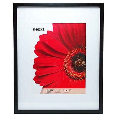 Nexxt – Cadre en bois massif série Gallery, 16 x 20 po, noir