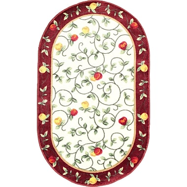 Anglo Oriental Delight Oval Area Rug, 3'0