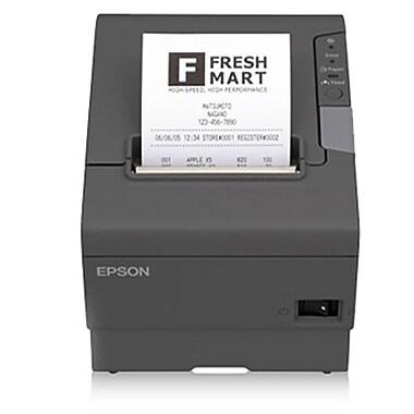 Epson® - Imprimante thermique sans fil TM-T88V pour reçus à PDV, alimentation USB, gris