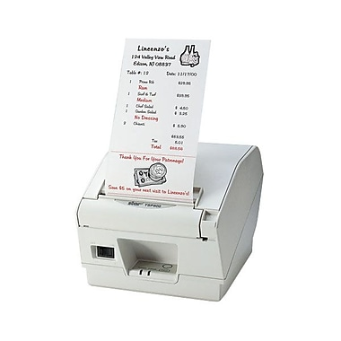 Star Micronics® TSP847IIL-24 Thermal POS Receipt Printer, Ethernet, Grey (Power Supply not included)