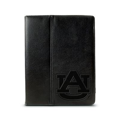 Centon 3040685 Leather Folio Case for Apple iPad, Black