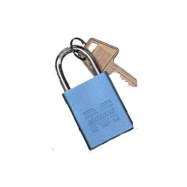 Morris Products Master Key Padlocks; Blue