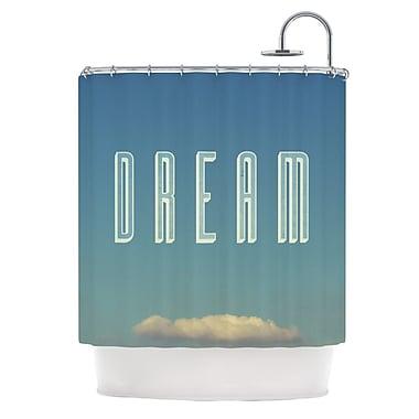 KESS InHouse Dream Print Shower Curtain