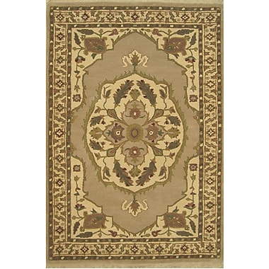 American Home Rug Co. American Home Classic North West Taupe/Beige Area Rug; Runner 2'6'' x 8'