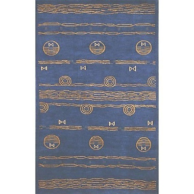 American Home Rug Co. Neo Nepal Ocean Vibes Royal Blue Area Rug; 8'6'' x 11'6''