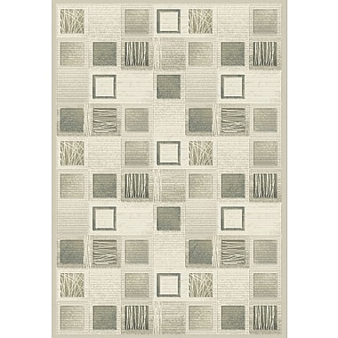 Dynamic Rugs Eclipse Cream Area Rug; Rectangle 3'11'' x 5'7''