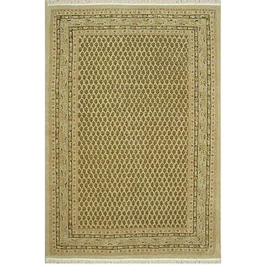 American Home Rug Co. American Home Classic Mir Gold Area Rug; 2' x 4'