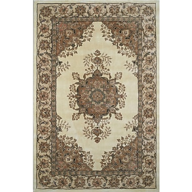 American Home Rug Co. American Home Classic Persian Kerman Ivory/Beige Area Rug; 8'6'' x 11'6''