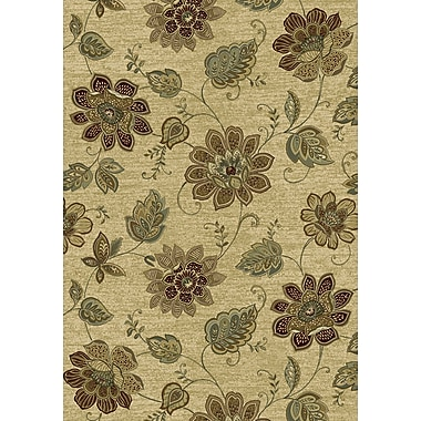 Dynamic Rugs Ancient Garden Persian Beige Area Rug; Rectangle 7'10'' x 11'2''