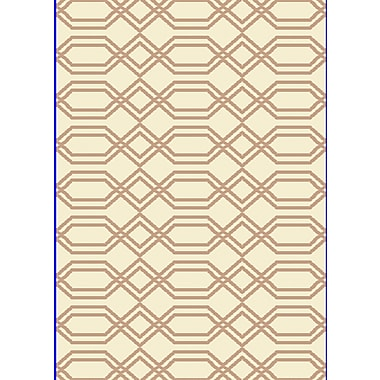 Dynamic Rugs Passion White/Beige Rug; Rectangle 9'2'' x 12'10''
