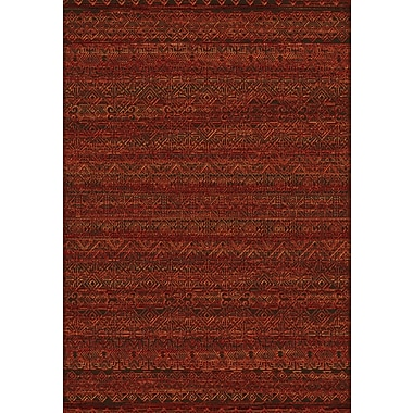 Dynamic Rugs Imperial Red Area Rug; Rectangle 2' x 3'11''