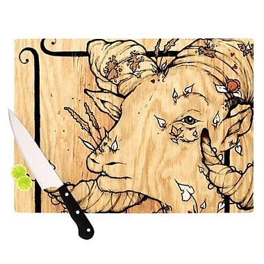 KESS InHouse Ram Cutting Board; 11.5'' H x 15.75'' W x 0.15'' D
