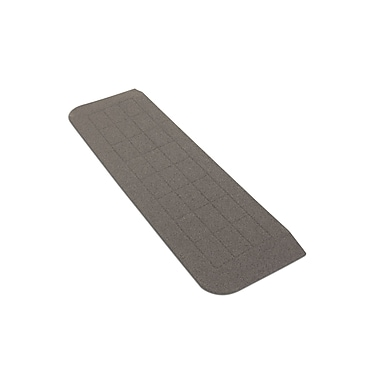 Prairie View Industries Bighorn Plastic Threshold; Granite Grey