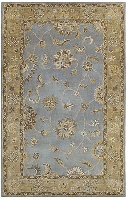 Dynamic Rugs Charisma Light Blue Persian Rug; Rectangle 6'7'' x 9'6''