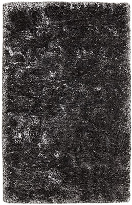 Dynamic Rugs Timeless Black Area Rug; Rectangle 10' x 14'