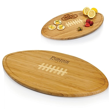 Picnic Time NCAA Kickoff Wood Cutting Board; Purdue University Boilermakers