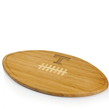 Picnic Time NCAA Kickoff Wood Cutting Board; University of Tennessee Volunteers