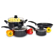 Heuck Aluminum 7 Piece Cookware Set