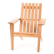 All Things Cedar Western Red Cedar Solid Wood Adirondack Chair