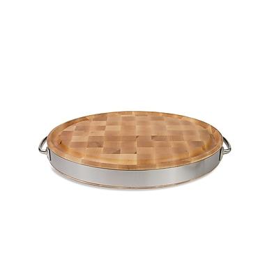 John Boos Gift Oval Reversible Board; 20'' W x 15'' D