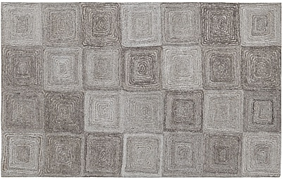 Dynamic Rugs Posh Gray Area Rug; Rectangle 8' x 11'