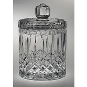 Majestic Crystal Plaza Kitchen Canister; 7.13'' H x 4.13'' W x 4.13'' D