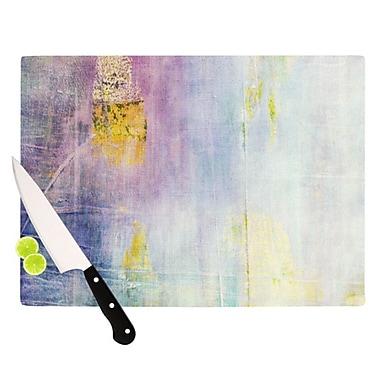 KESS InHouse Color Grunge Cutting Board; 11.5'' H x 8.25'' W x 0.25'' D
