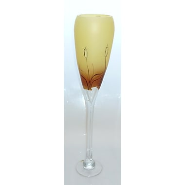 Womar Glass Cat Tail Champagne Flute