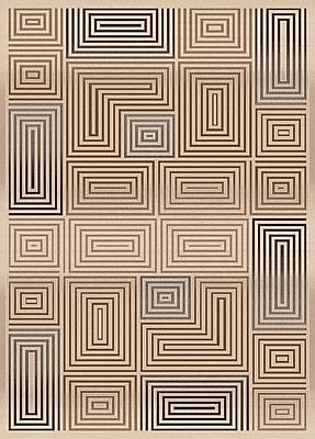 Dynamic Rugs Treasure Cream Area Rug; Rectangle 7'10'' x 10'10''