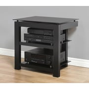Plateau SL Series 2-Shelf Audio / Video Rack; Black