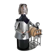 H & K SCULPTURES Taster Female 1 Bottle Tabletop Wine Rack
