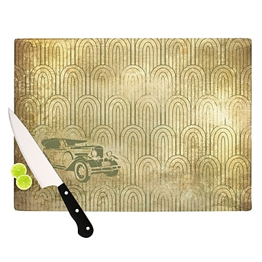 KESS InHouse Deco Car Cutting Board; 11.5'' H x 15.75'' W x 0.15'' D