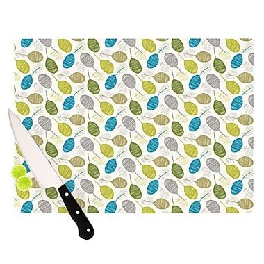 KESS InHouse Tangled Cutting Board; 11.5'' H x 15.75'' W x 0.15'' D