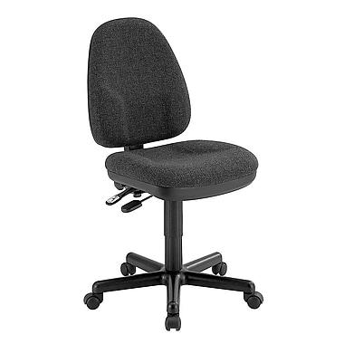 Alvin and Co. Monarch Mid-Back Desk Chair; Black