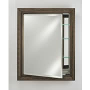 Afina Signature 17'' x 26'' Recessed Medicine Cabinet; Elegance Antique Gold