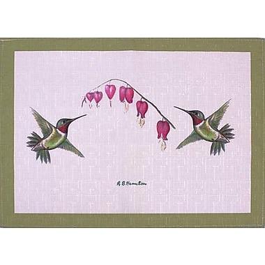 Betsy Drake Interiors Hummingbird Placemat (Set of 4)