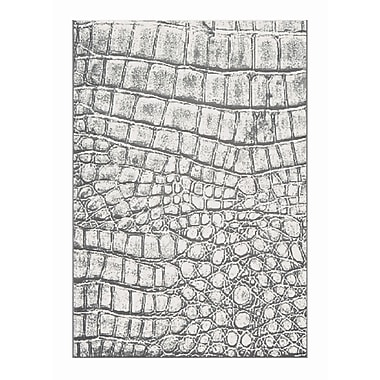 Dynamic Rugs Mysterio Silver Checked Area Rug; 2' x 3'11''