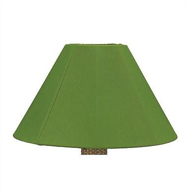 Patio Living Concepts 20'' Sunbrella Empire Lamp Shade; Basil Linen