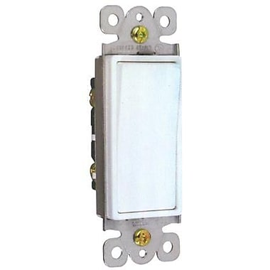 Morris Products 15A-120/277V 4 Way Decorator Switches in White