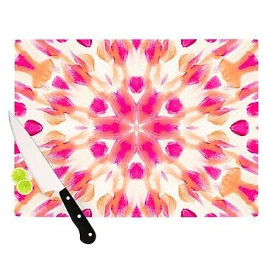 KESS InHouse Batik Mandala Cutting Board; 11.5'' H x 15.75'' W x 0.15'' D