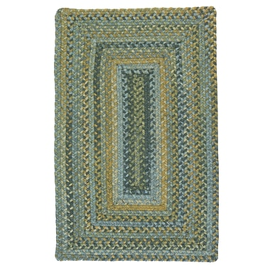 Colonial Mills Ridgevale Whipple Green Area Rug; Square 8'