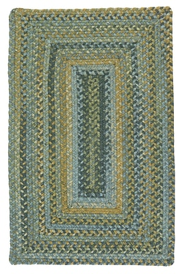 Colonial Mills Ridgevale Whipple Green Area Rug; Rectangle 12' x 15'