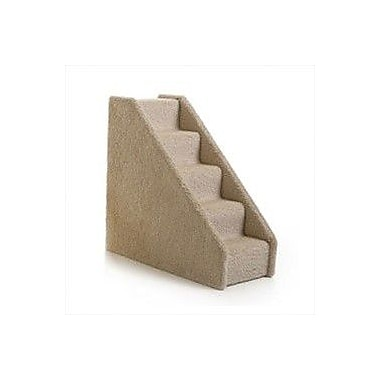 Lucky Cat Small Solid Side 5 Step Pet Stair; Dark Green