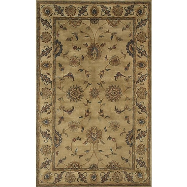 Dynamic Rugs Charisma Adams Beige Area Rug; Rectangle 9'6'' x 13'6''