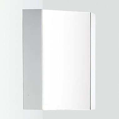Fresca Coda 14'' x 23.5'' Corner Mount Medicine Cabinet