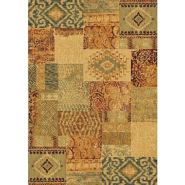 Dynamic Rugs Imperial Harvest Gold Area Rug; 5'3'' x 7'7''