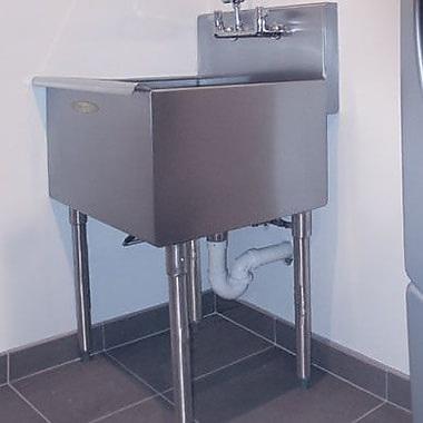 A-Line by Advance Tabco 36'' x 21'' Single Freestanding Utility Sink