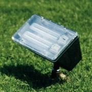 Dabmar Lighting 2-Light Flood Light; Green